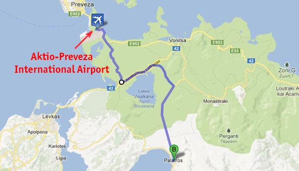 Aktio - Preveza - International Airport