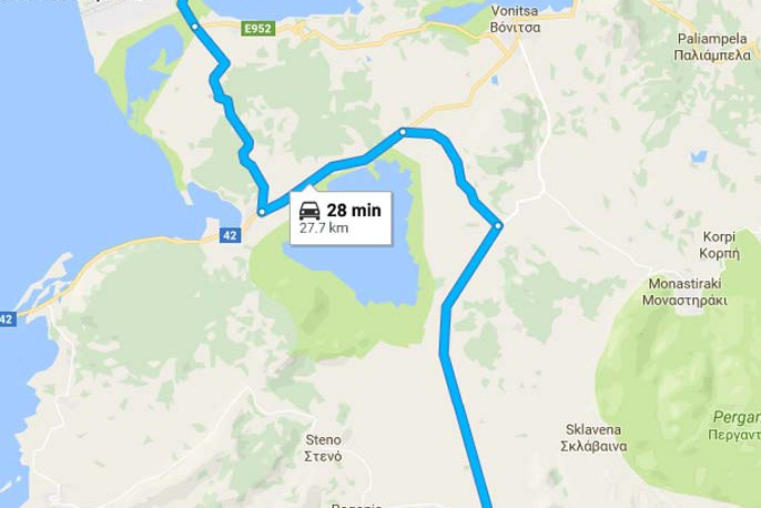Paleros Travel - Reach Paleros from Aktio